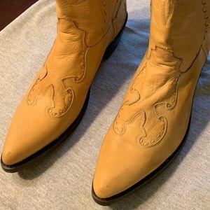 Durango Leather Cowboy Boots Size 10.5